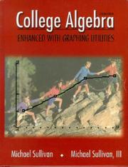 Cover of: College Algebra Enhanced with Graphing Utilities