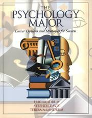 Cover of: Psychology Major, The: Career and Strategies for Success