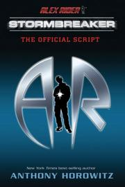 Cover of: Alex Rider: Stormbreaker | Anthony Horowitz