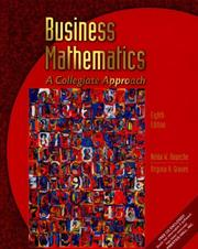 Cover of: Business Mathematics | Nelda W. Roueche, Virginia H. Graves