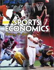 Sports economics by Rodney D. Fort