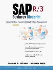 SAP R/3 Business Blueprint by Thomas A. Curran, Andrew Ladd
