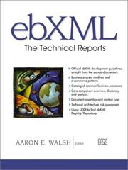 Cover of: ebXML | Aaron E. Walsh