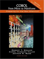 Cover of: COBOL: From Micro to Mainframe