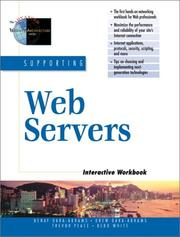 Cover of: Supporting Web Servers Interactive Workbook | Bebo White