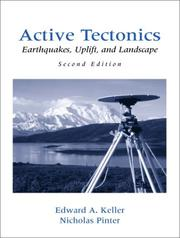 Active Tectonics: Earthquakes, Uplift, and Landscape