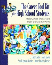 Cover of: Career ToolKit for High School Students, The: Making the Transition from School to Work
