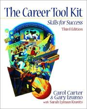 Cover of: The Career ToolKit | Carol Carter