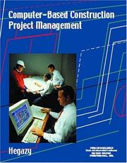 Cover of: Computer-Based Construction Project Management by Tarek Hegazy