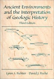 Cover of: Ancient environments and the interpretation of geologic history
