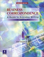Cover of: Business Correspondence: A Guide to Everyday Writing