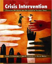 Cover of: Crisis Intervention | Lennis G. Echterling