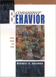 Consumer behavior by Michael R. Solomon