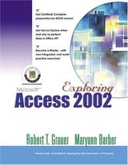 Cover of: Exploring Microsoft Access 2002 Comprehensive