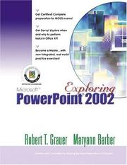 Cover of: Exploring Microsoft PowerPoint 2002 Comprehensive