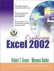 Cover of: Exploring Microsoft Excel 2002 Comprehensive | Robert Grauer