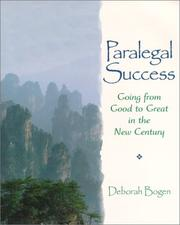 Cover of: Paralegal Success