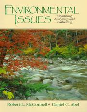 Cover of: Environmental Issues | Robert L. McConnell