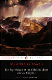 Report on the exploration of the Colorado River of the West and its tributaries by John Wesley Powell