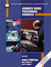 Cover of: Advanced Engine Performance and Worktext and CD Package