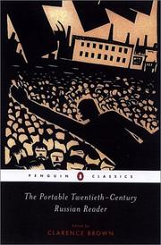 Cover of: The Portable Twentieth-Century Russian Reader (Penguin Classics) | Clarence Brown