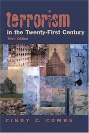 Cover of: Terrorism in the 21st Century (3rd Edition) | Cindy C. Combs