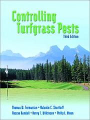 Cover of: Controlling Turfgrass Pests | Thomas W. Fermanian