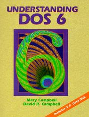 Cover of: Understanding DOS 6