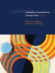 Cover of: A guide for developing interdisciplinary thematic units