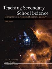 Cover of: Teaching secondary school science