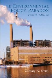 Cover of: The environmental policy paradox