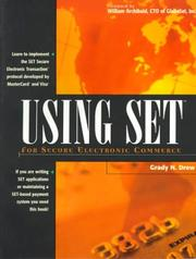 Cover of: Using SET for secure electronic commerce