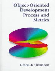 Cover of: Object-oriented development process and metrics