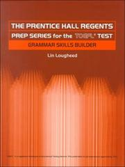 Cover of: Prentice Hall Regents Prep Series for the TOEFL Test