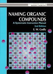 Cover of: Naming organic compounds