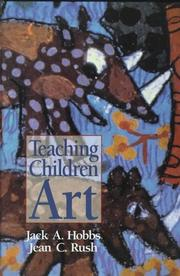 Cover of: Teaching children art