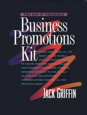 Cover of: The do-it-yourself business promotions kit