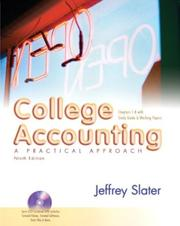 Cover of: College Accounting 1-8 with Study Guide and Working Paper and DVD and Envelope Package