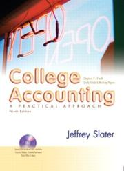 Cover of: College Accounting 1-12 and Study Guide and Working Papers and DVD and Envelope Package