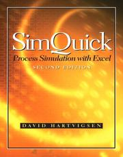 Cover of: SimQuick with Excel and Software CD Package (2nd Edition) | David Hartvigsen