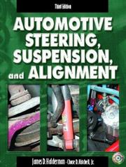 Cover of: Automotive Steering, Suspension, and Alignment & Worktext & CD Pkg.