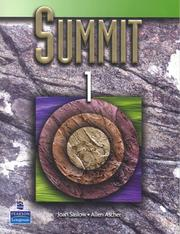 Cover of: Summit 1 Student Book w/Audio CD | Joan M. Saslow