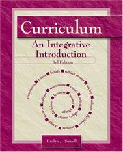 Curriculum by Evelyn J. Sowell
