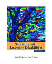 Students with learning disabilities by Cecil D. Mercer