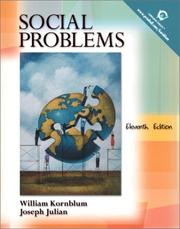 Cover of: Social Problems, 11th Edition | William Kornblum