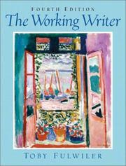 Cover of: The working writer | Toby Fulwiler