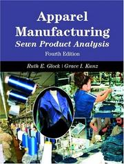Cover of: Apparel Manufacturing | Grace I. Kunz