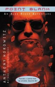 Cover of: Point blank | Anthony Horowitz