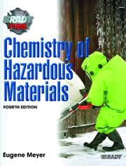 Cover of: Chemistry of Hazardous Materials