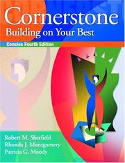 Cover of: Cornerstone | Robert M. Sherfield